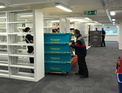 Bishops Move: Phase Two of The University of Surrey Library Relocation